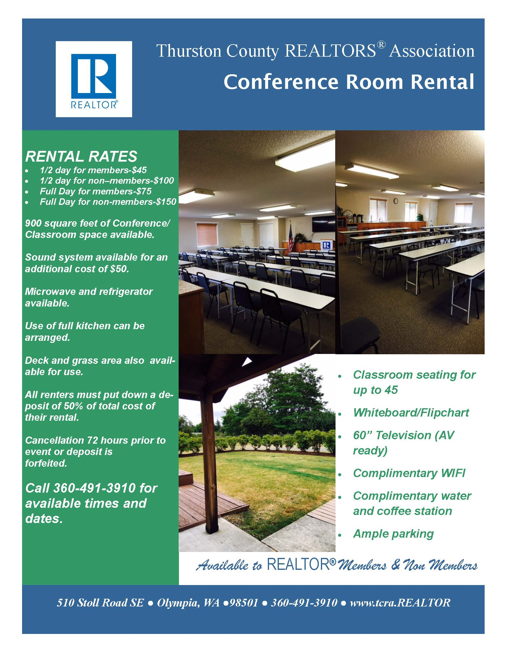 conference room rental flyer jpg conference room for rent
